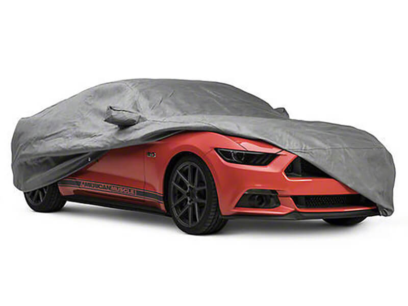 Bạt chống nóng phủ nửa thân xe