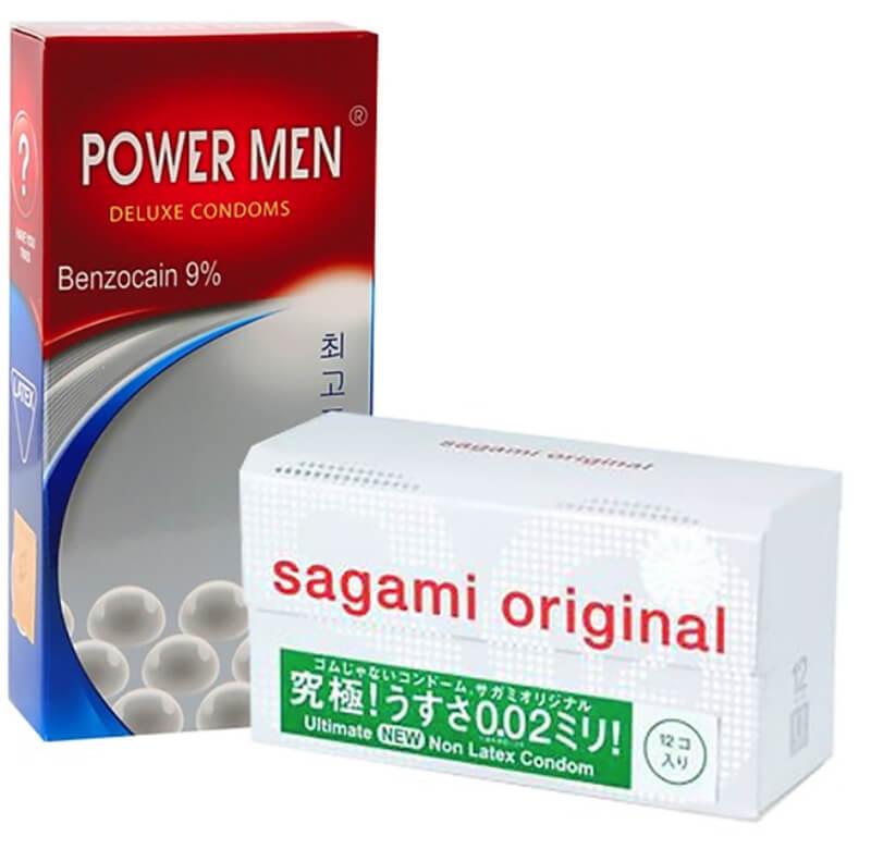 Bao cao su Sagami Original độ bền tốt