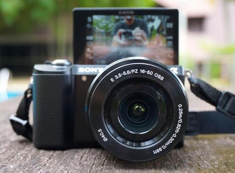 Bộ máy ảnh cho người mới Sony A5000 20.1MP với lens Kit 16-50