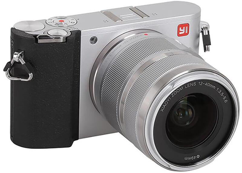 Bộ máy ảnh không gương lật Xiaomi Yi M1 và kit 12-40mm F/3.5-5.6