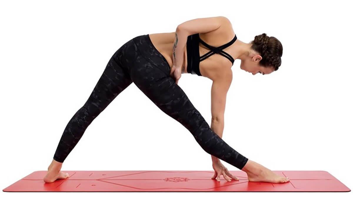 Thảm tập yoga định tuyến PU Liforme Love 4.2mm loại tốt