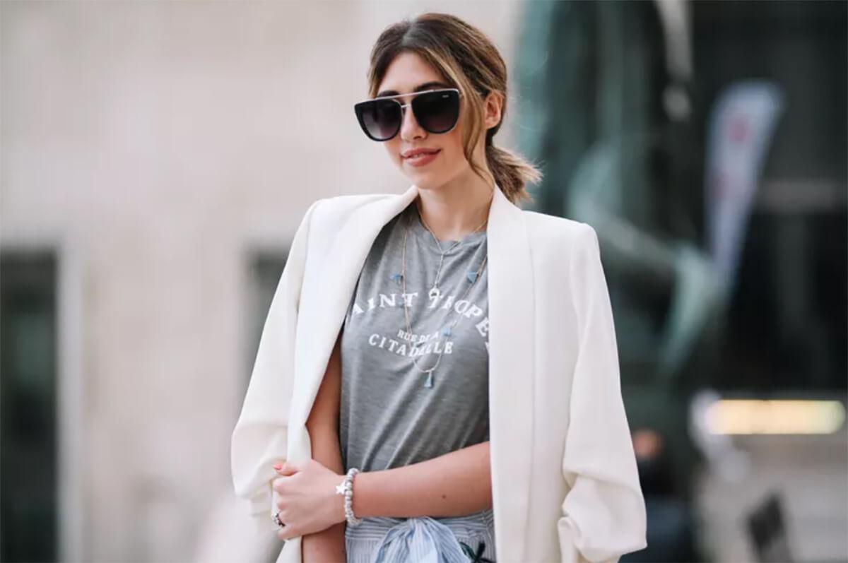 Cách chọn mua áo khoác blazer nữ hàn quốc form dài đẹp