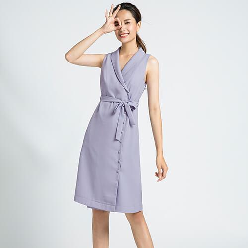 Đầm blazer Hity DRE078 sắc tím