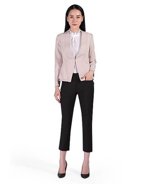 Áo Khoác Blazer Áo Khoác Blazer Nữ Nữ Kiểu Form ngắn