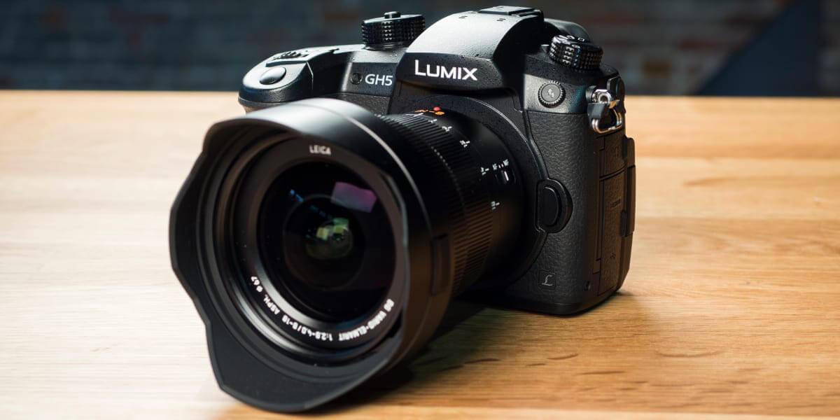 Máy ảnh không gương lật tốt nhất để quay video : Panasonic Lumix GH5