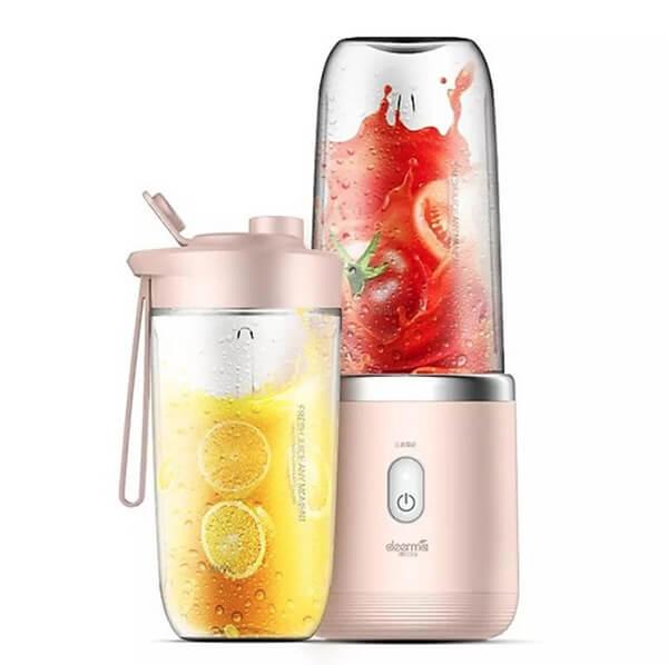 Máy xay sinh tố dùng pin mini: Deerma Mini Juice