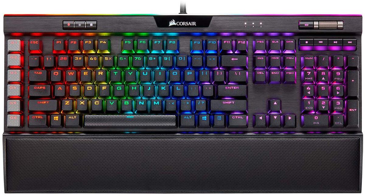 Corsair K95 RGB Platinum: Gaming Keyboard có hệ thống đèn sáng đẹp