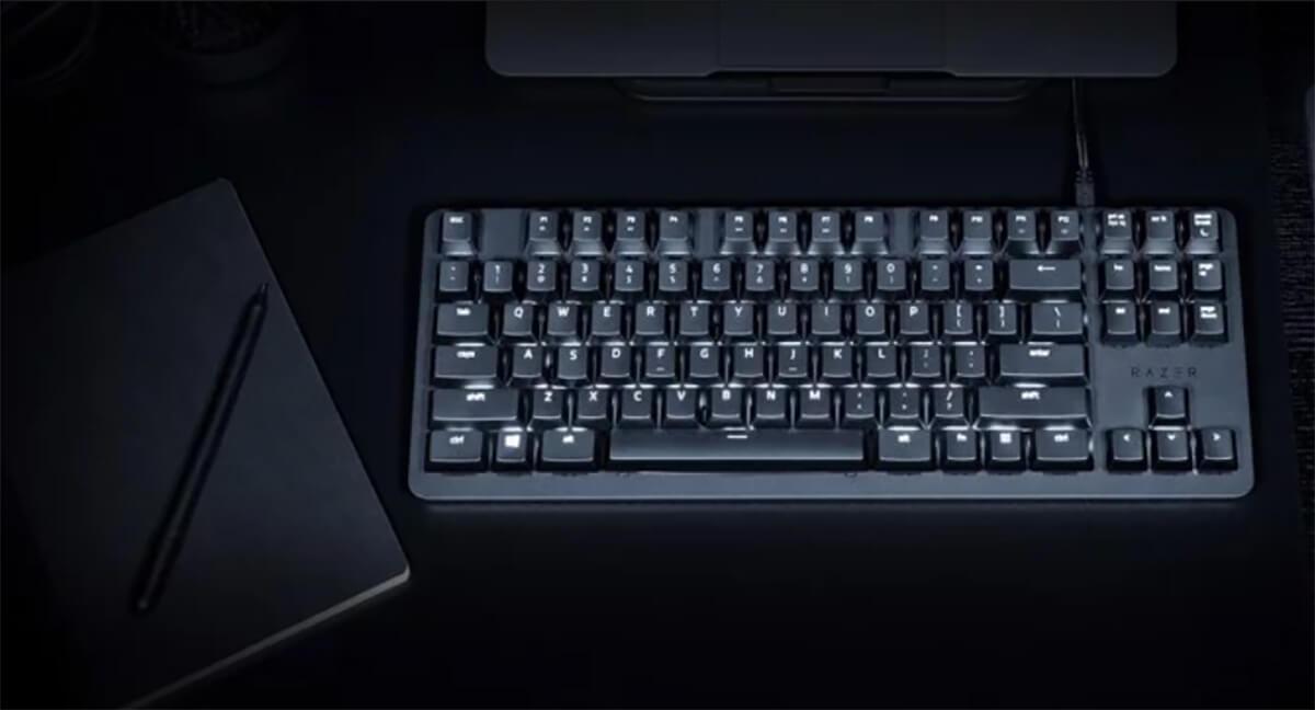 Razer BlackWidow Lite: Nhỏ gọn chơi game tốt