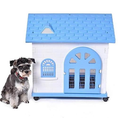Nhà nhựa cho chó đẹp