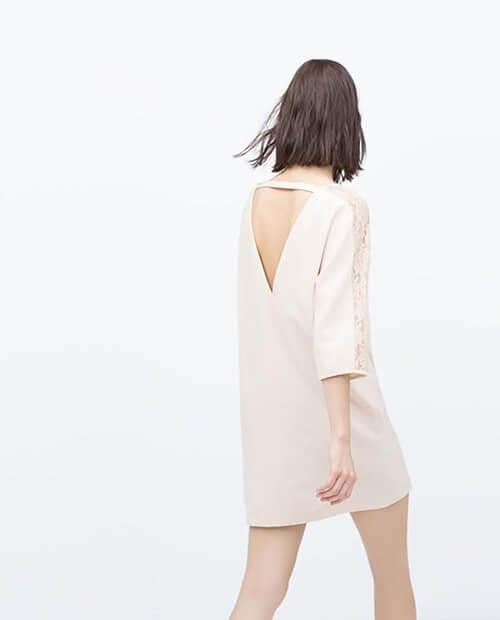 Váy suông kiểu hở lưng  gợi cảm