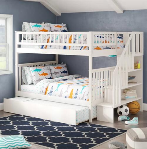 Kinh nghiệm mua giường trẻ em giá rẻ, đẹp và vừa kích thước
