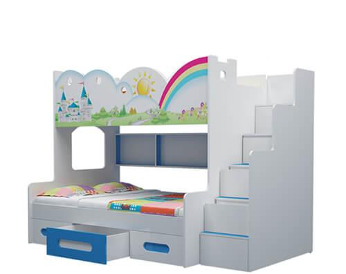 Giường tầng trẻ em lâu đài GT02