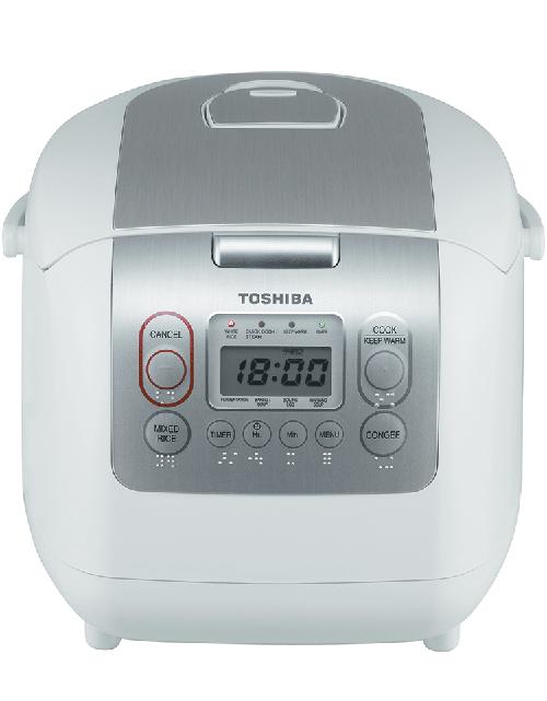 Nồi cơm điện mini đa năng của nhật tốt: Toshiba RC-10NMFVN (WT)