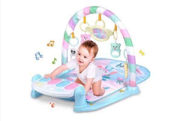 đồ chơi cho bé 1 tuổi thảm nhạc